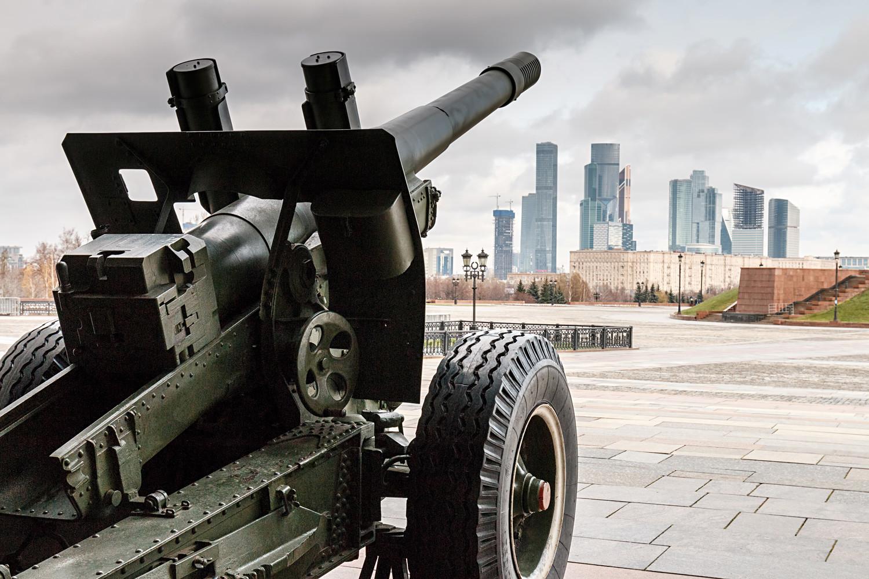 Museum Teknologi Militer di Park Pobedy.
