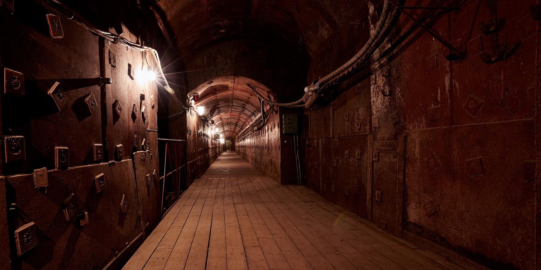 Tunel v Bunkerju-42, Muzeju hladne vojne v Moskvi