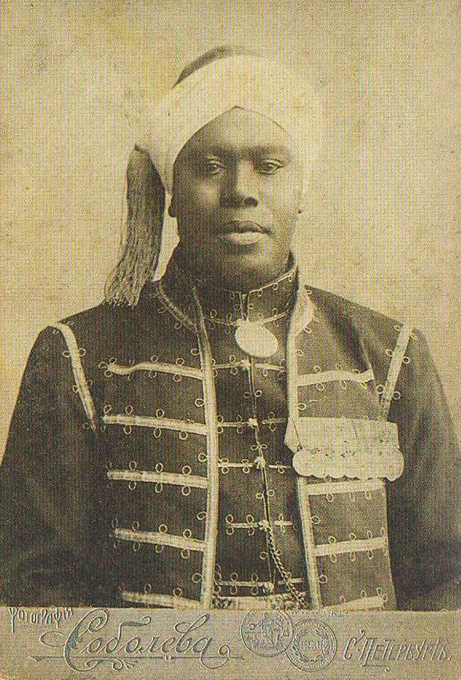 George Maria, an arap from Cape-Verde, who settled in Russia.
