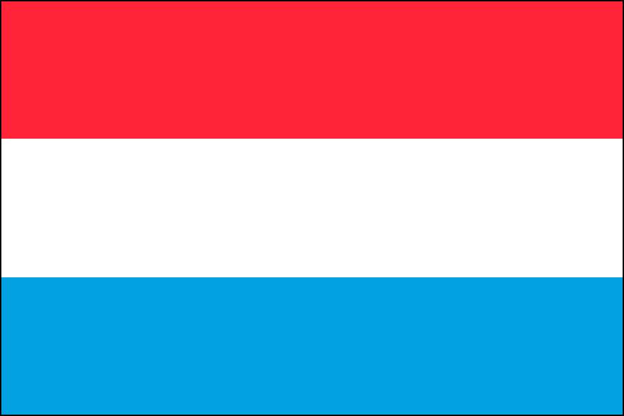 ルクセンブルク国旗