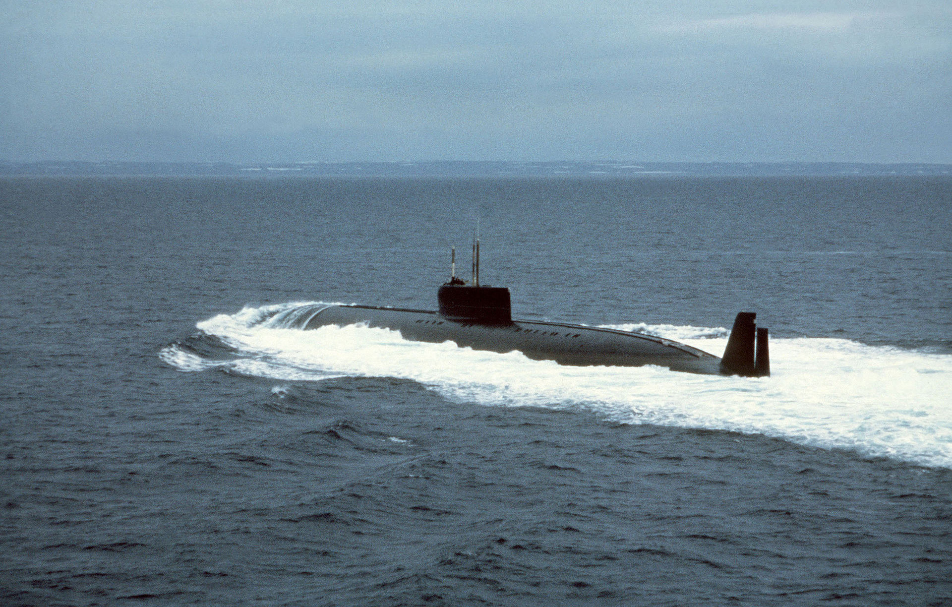 К-162 submarine on trial