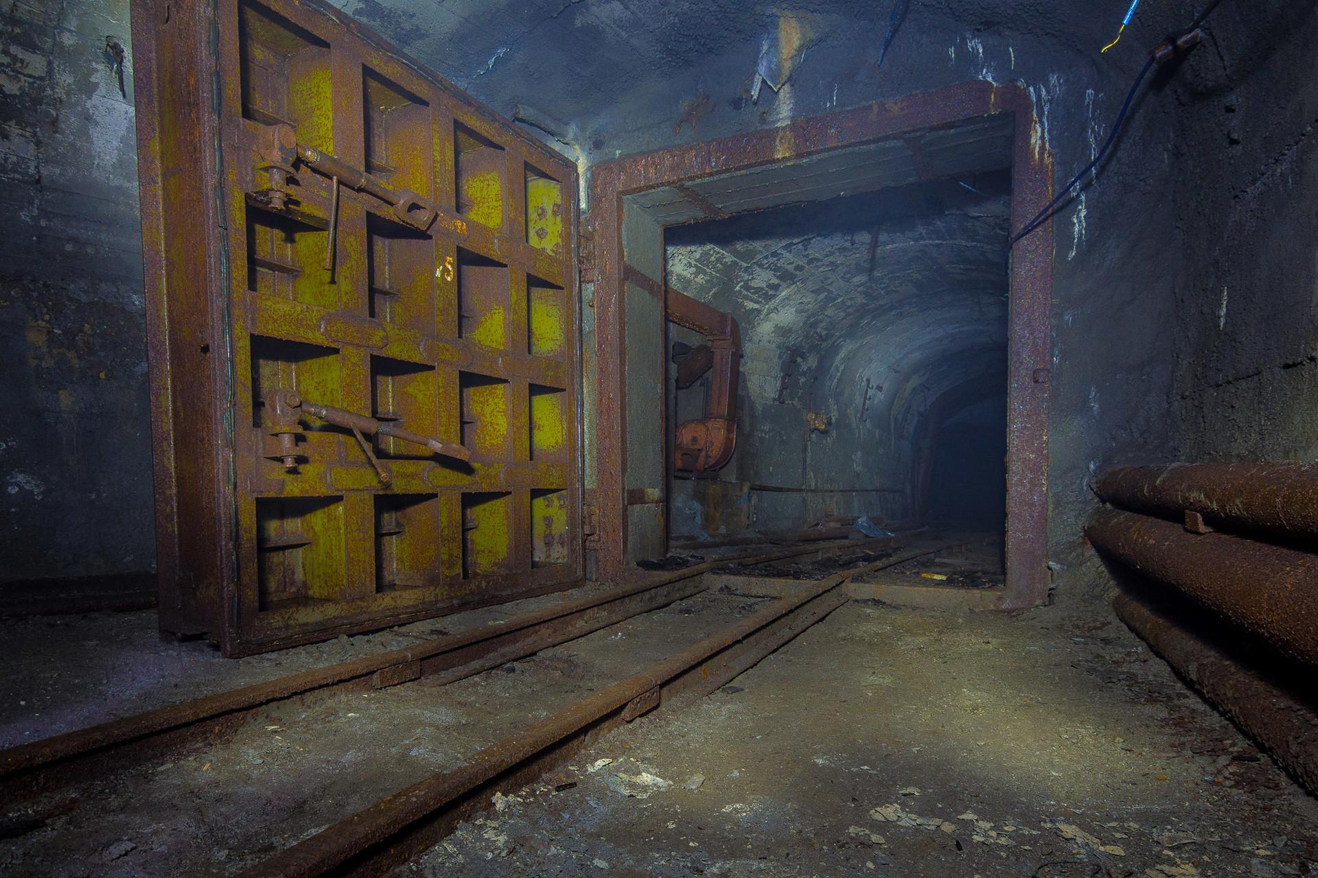 Mine de fer de la région de Sverdlovsk.