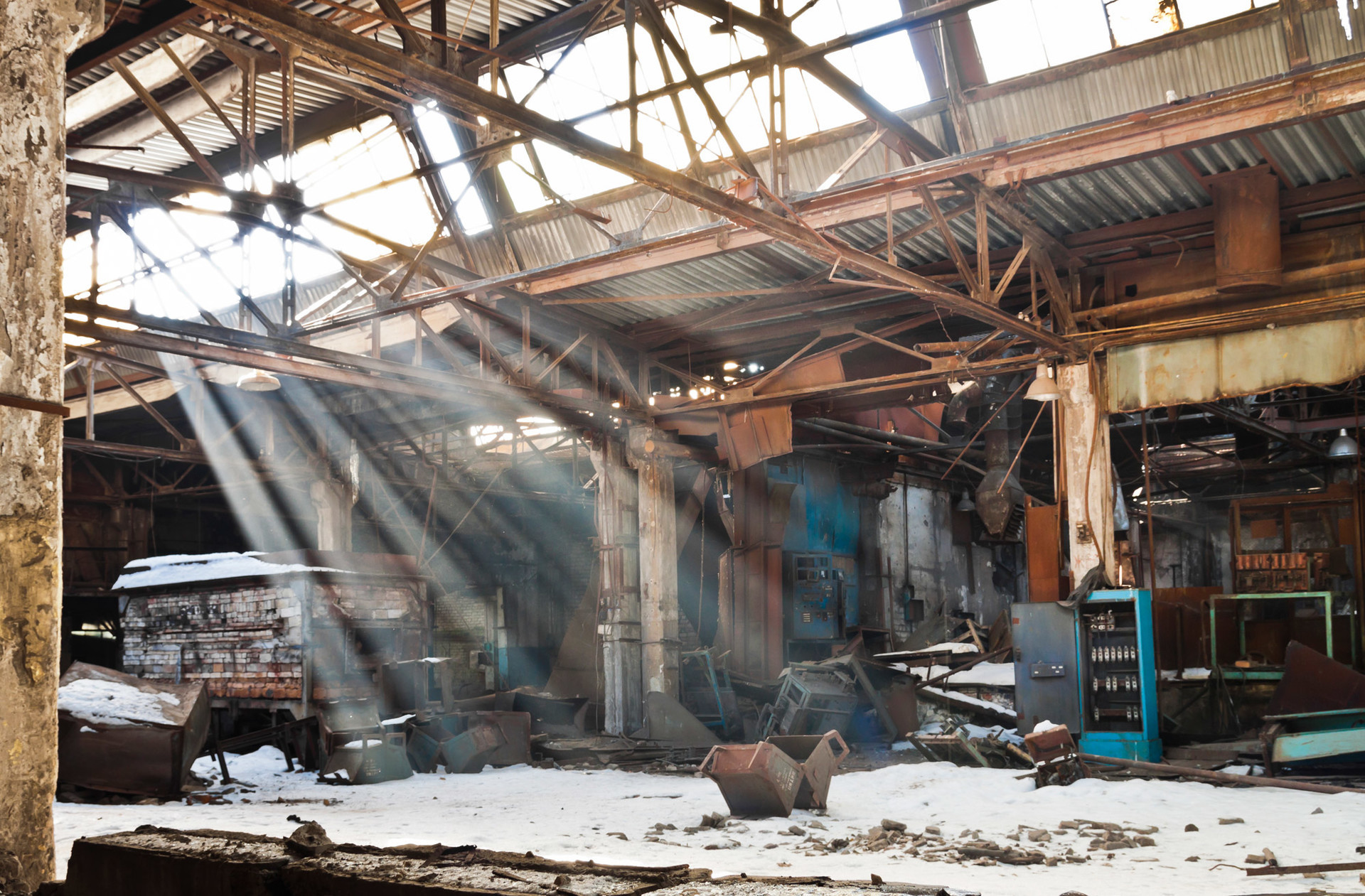 Ancien atelier de fabrication de voitures, Nijni-Novgorod.