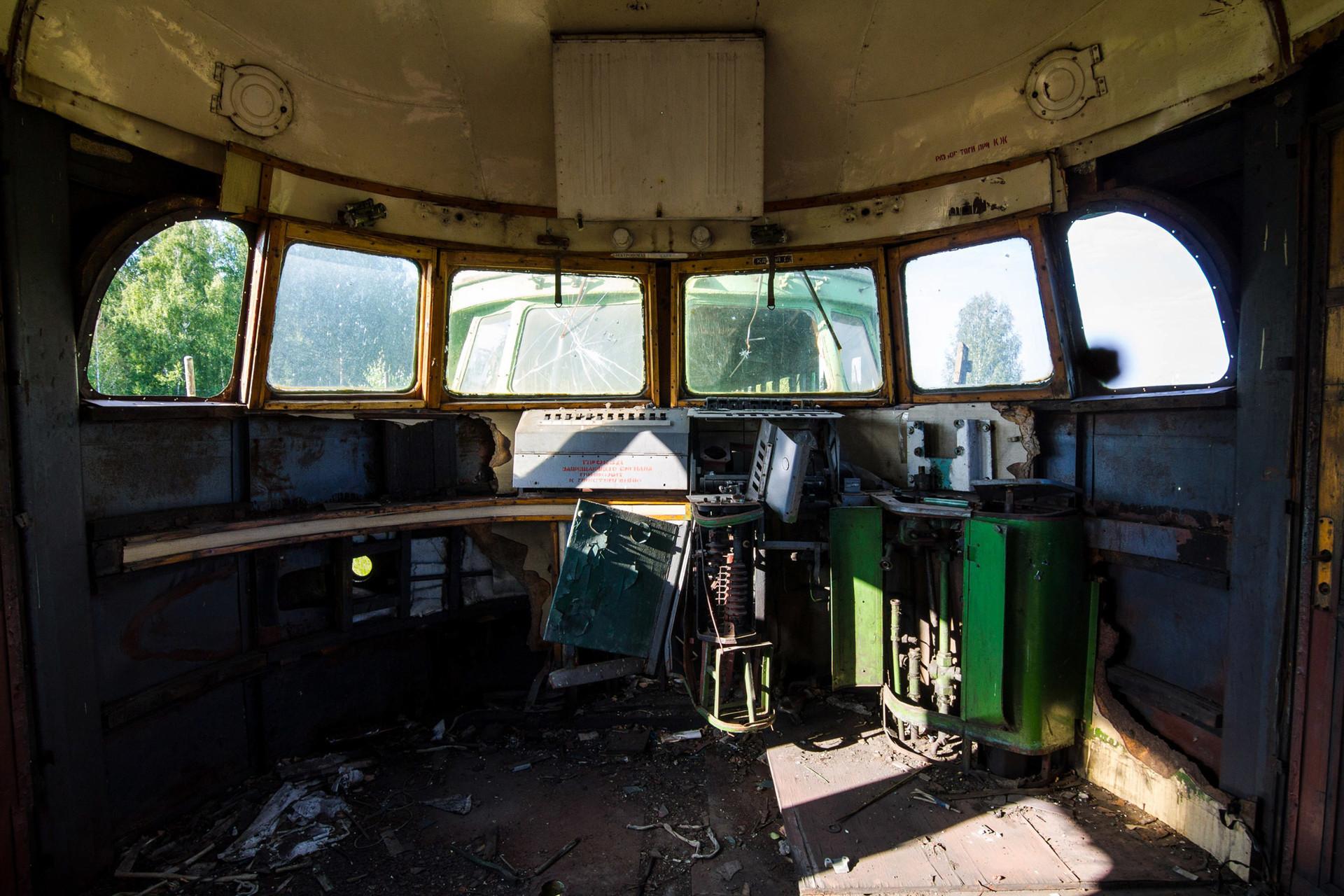 Locomotives déclassées dans la région de Tcheliabinsk.
