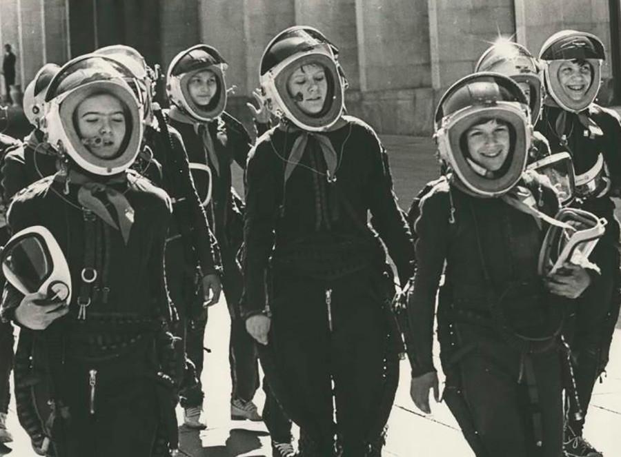 ピオネールの日。若い宇宙飛行士。1965年。