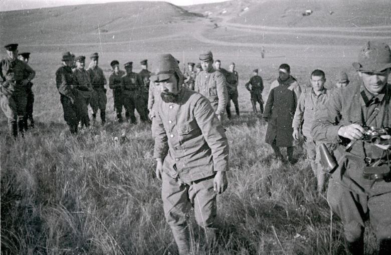 Soldados japoneses capturados.