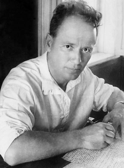 Mijaíl Shólojov en 1938.