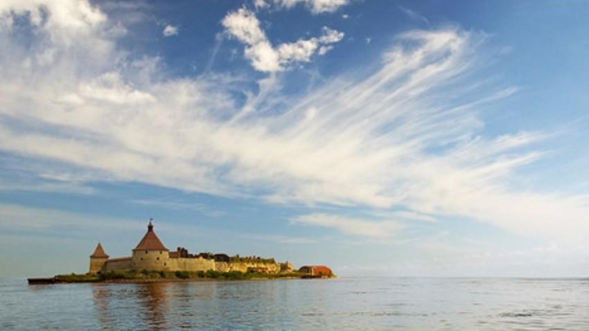 "Крепостта ""Орешек"" край Санкт Петербург"
