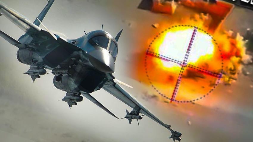 Су-34 прикажа извонредна борбена ефикасност во Сирија