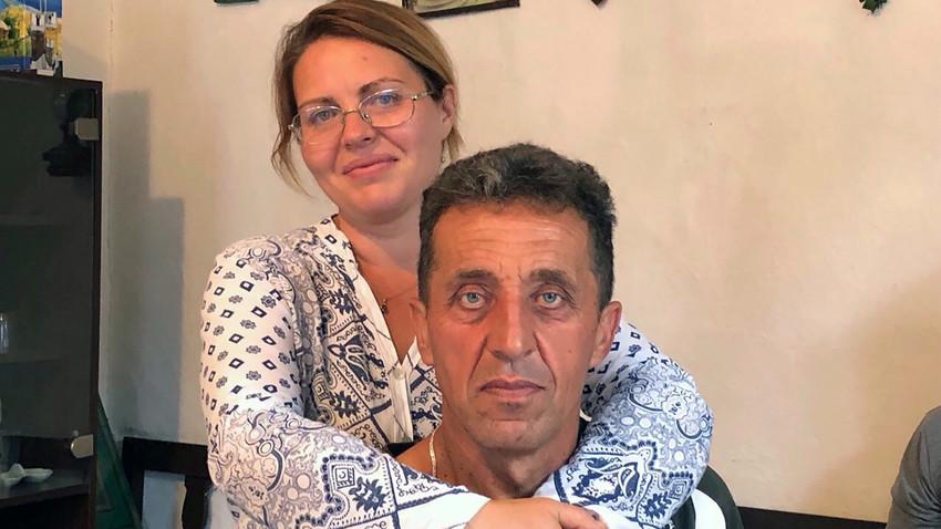 Олга Кочигарева са супругом