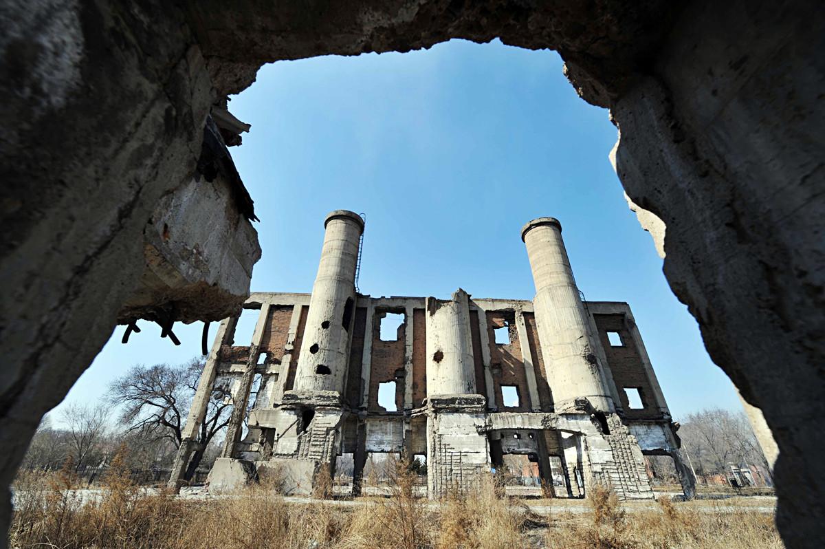 Ruinas del Escuadrón 731.