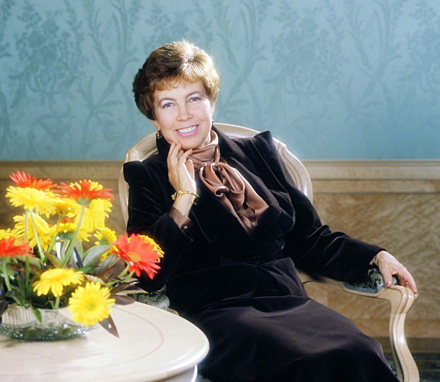 Raísa Gorbachova en 1986.