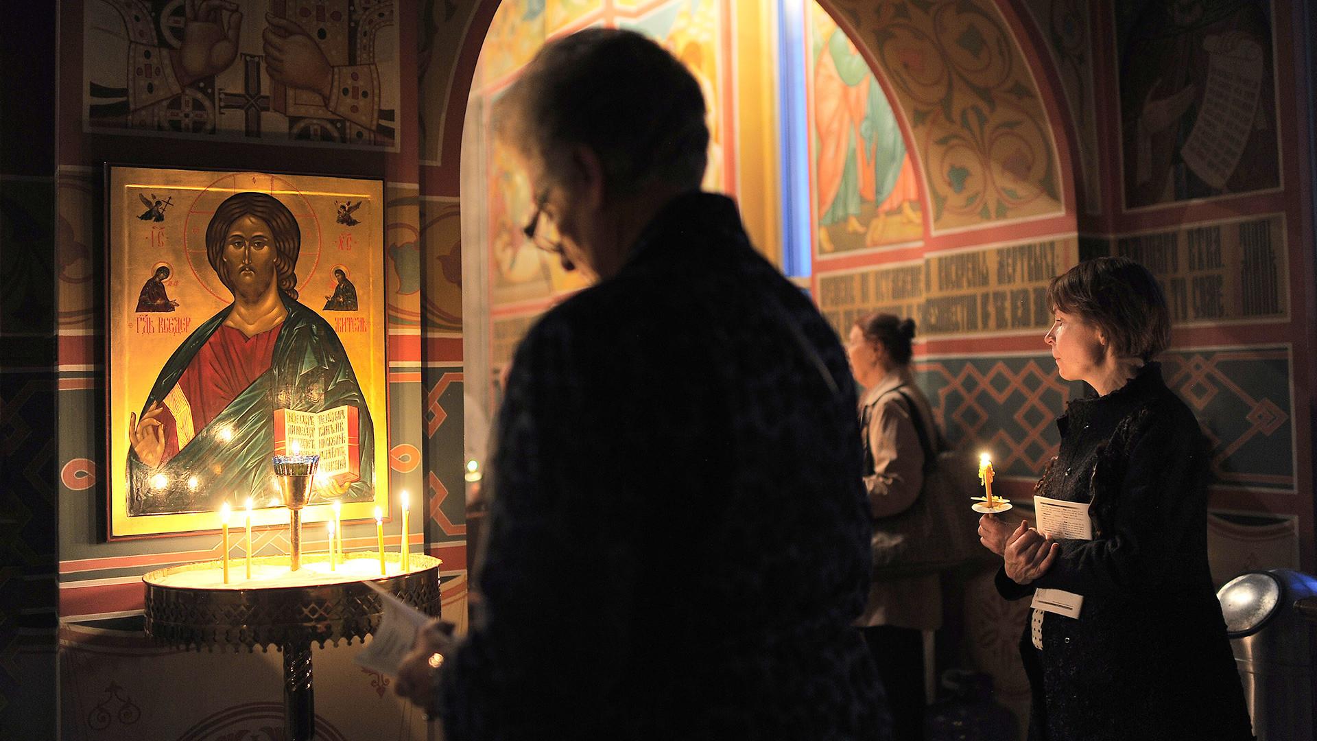 A Catedral de São Nikolai, em Washington, DC, é parte da Igreja Ortodoxa Russa nos EUA.