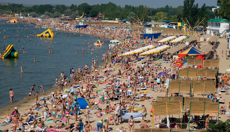 Pantai di kota ini gratis — seperti yang Anda lihat ...