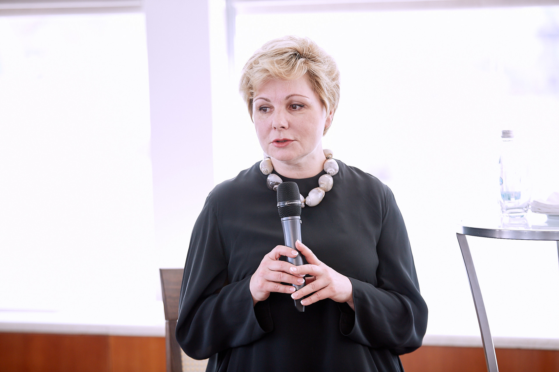 Elena Gagarina, direttrice dei Musei del Cremlino di Mosca