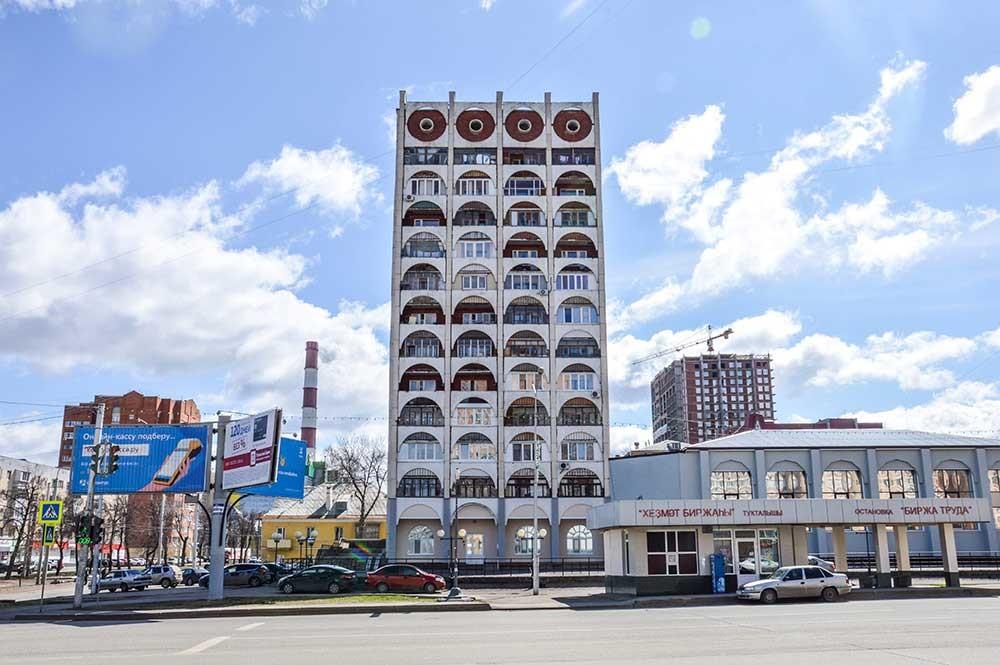 ウファの建築の多様性は印象的。