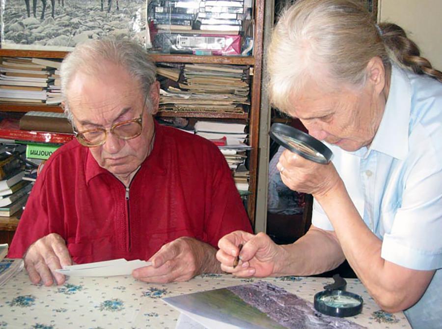 Вадим Колпаков и съпругата му