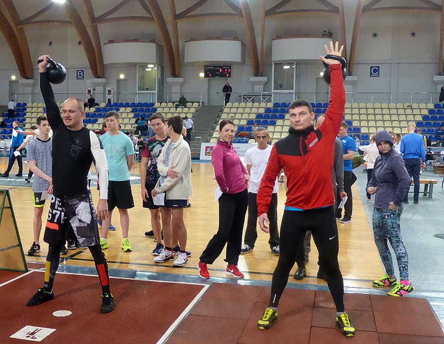 宇宙飛行士身体トレーニング部門の上級指導者、アレクサンドル・セルドゥク