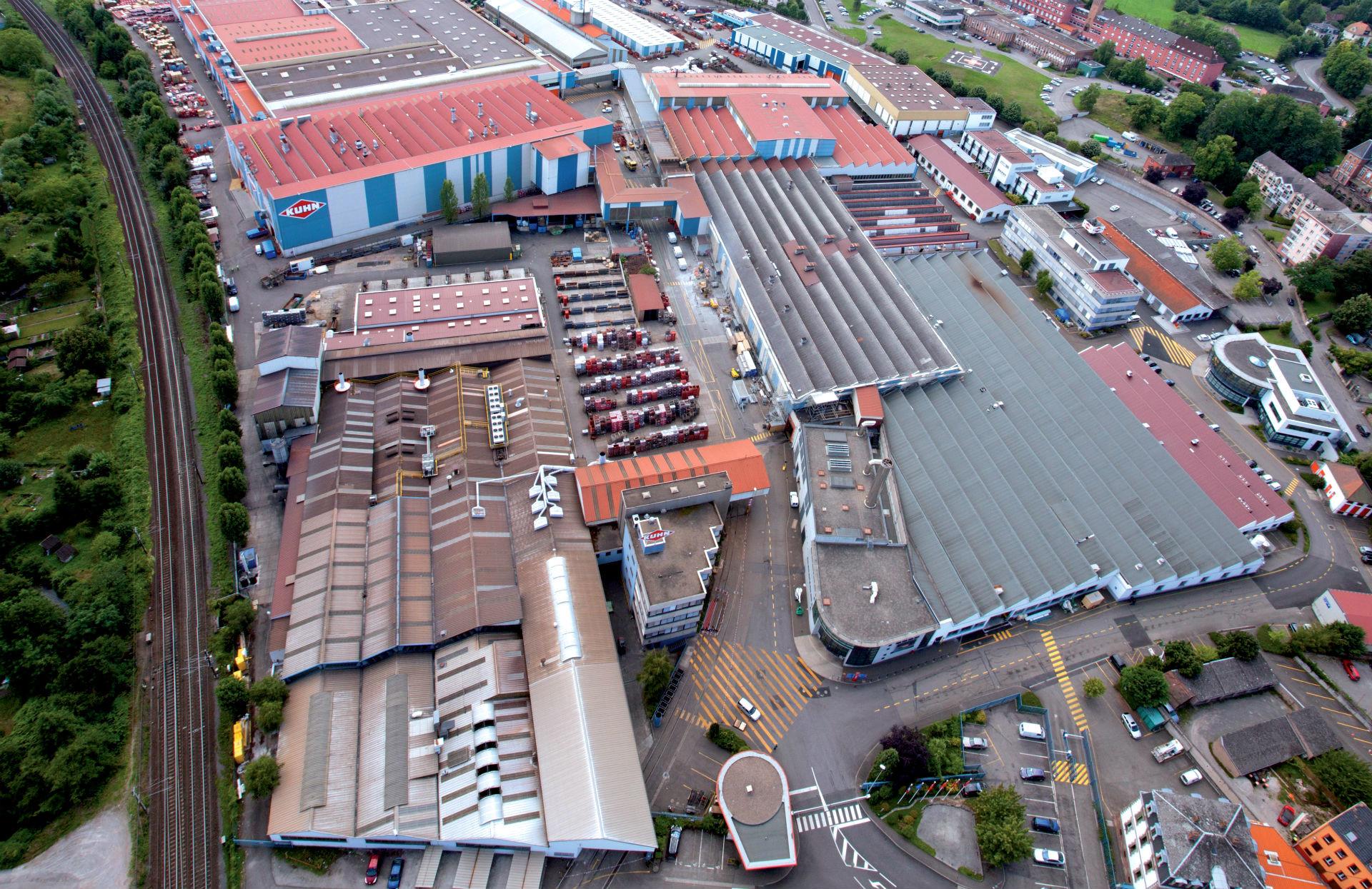 Site d'assemblage de Saverne (Bas-Rhin), siège de Kuhn Group