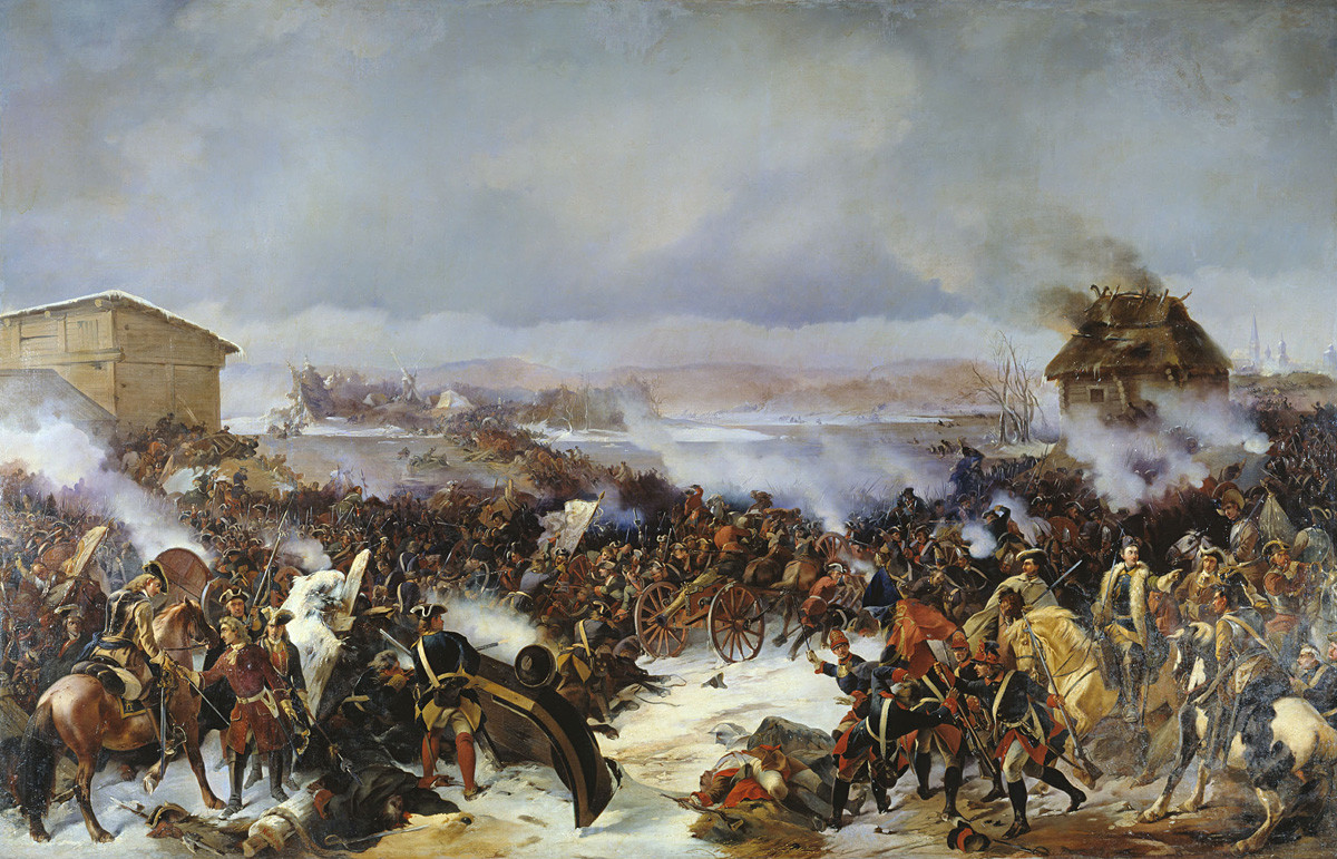 'The Battle of Narva'