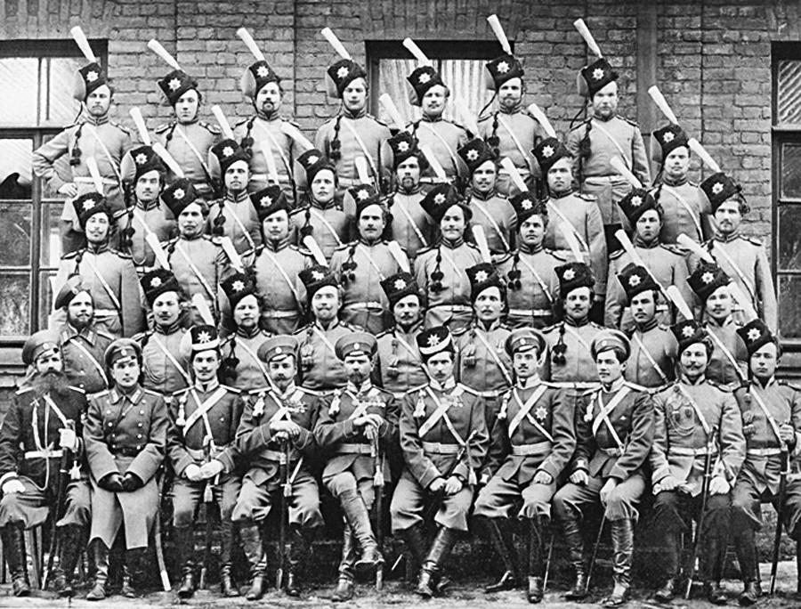 Enota gardistov z začetka 20. stoletja