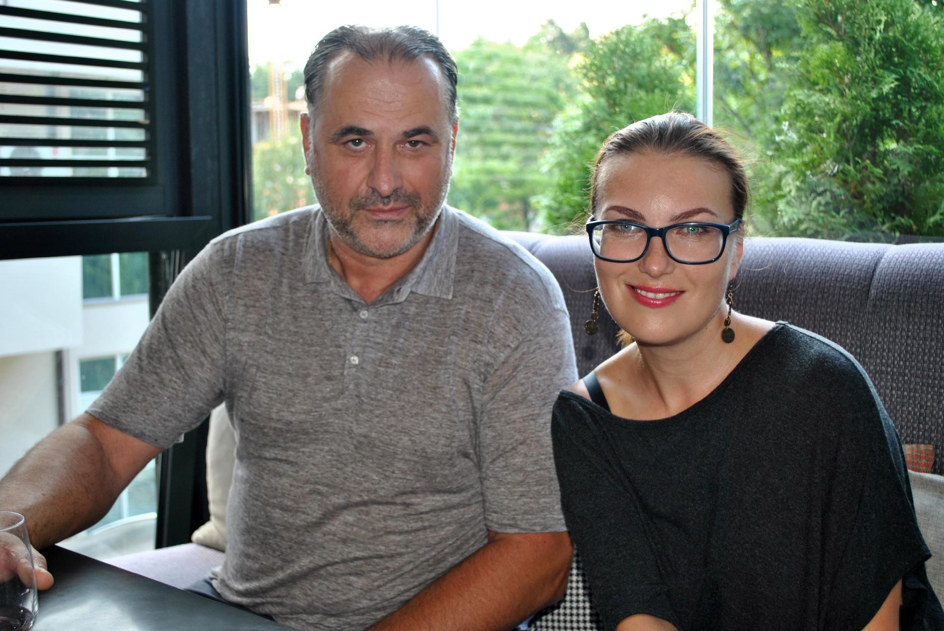 Миодраг Божовић и Катарина Лане