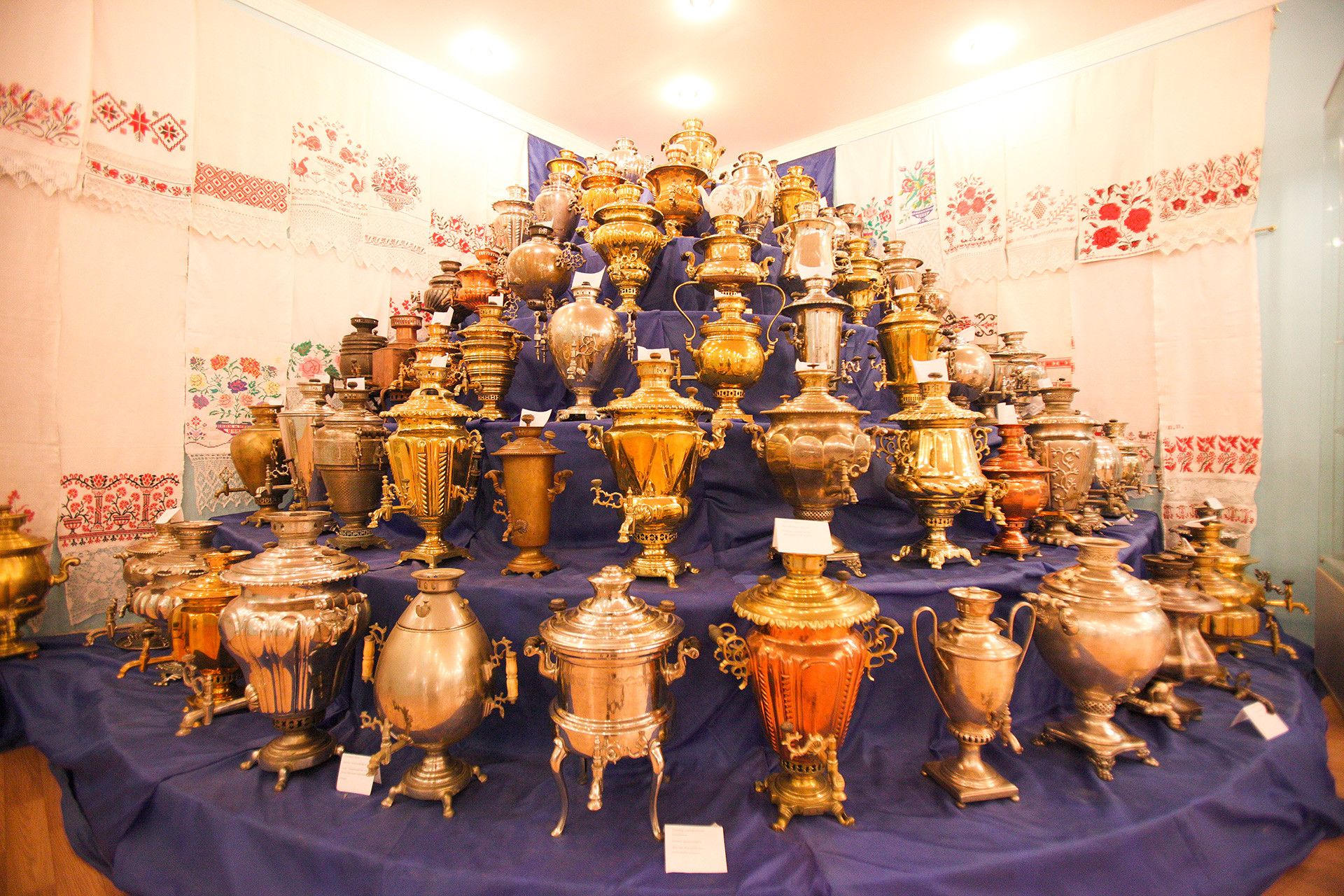 Museum Russian samovar in Kasimov