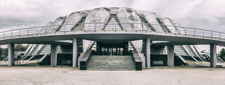Druzhba Multipurpose Arena, an indoor arena in Moscow, part of the Luzhniki Sports Complex