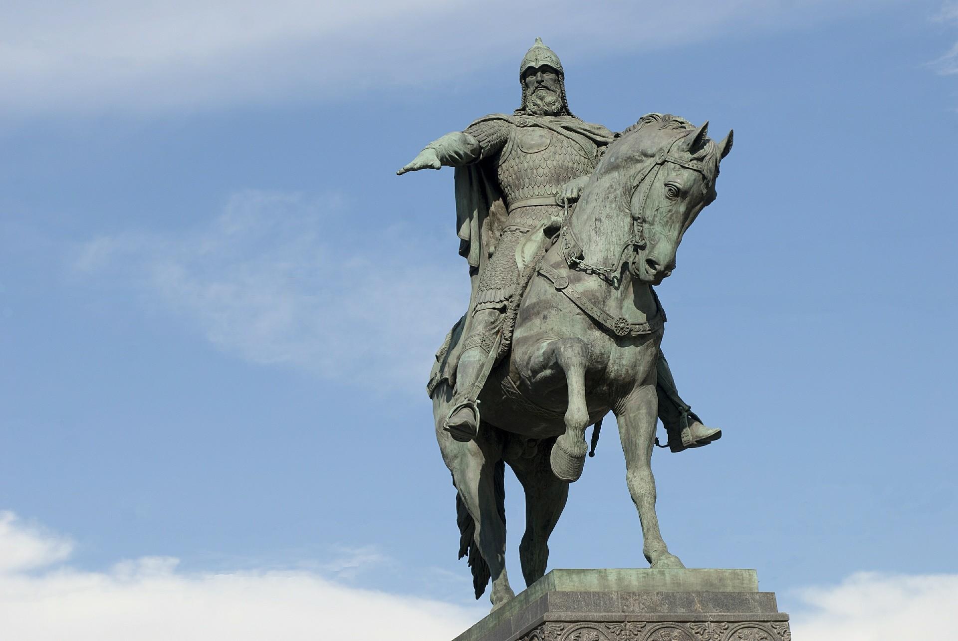 Monumento a Iúri Dolgorúki em Moscou.