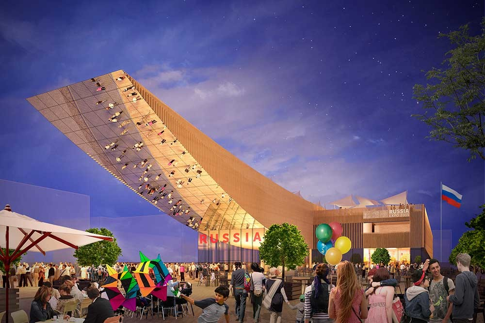 The concept for Russia's pavilion for Expo Milano 2015