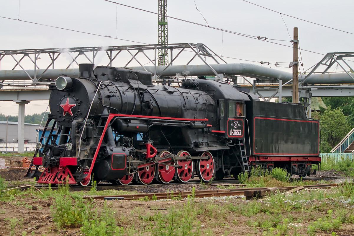 L-3653, Moskva, željeznički depo Podmoskovnaja