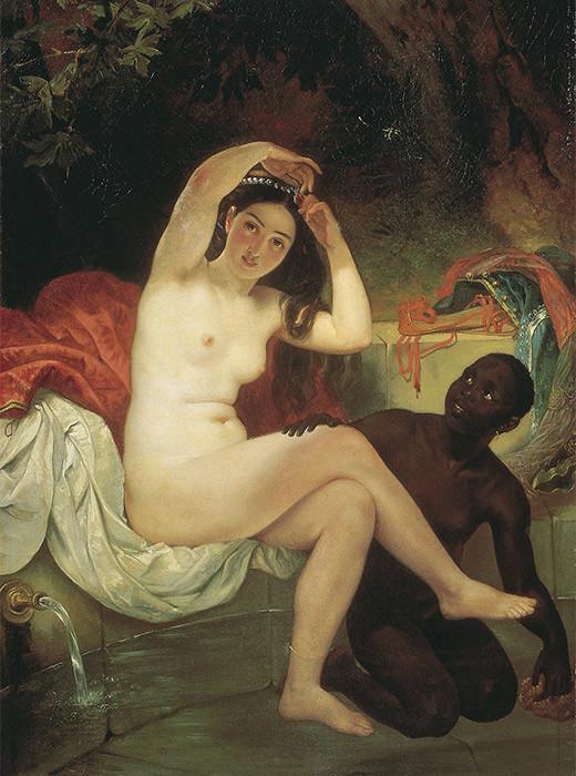 Betsabé, Karl Briullov. 1832