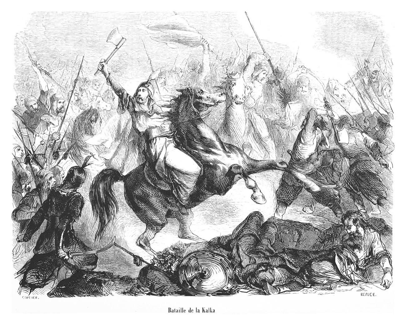 Битка на реци Калки.