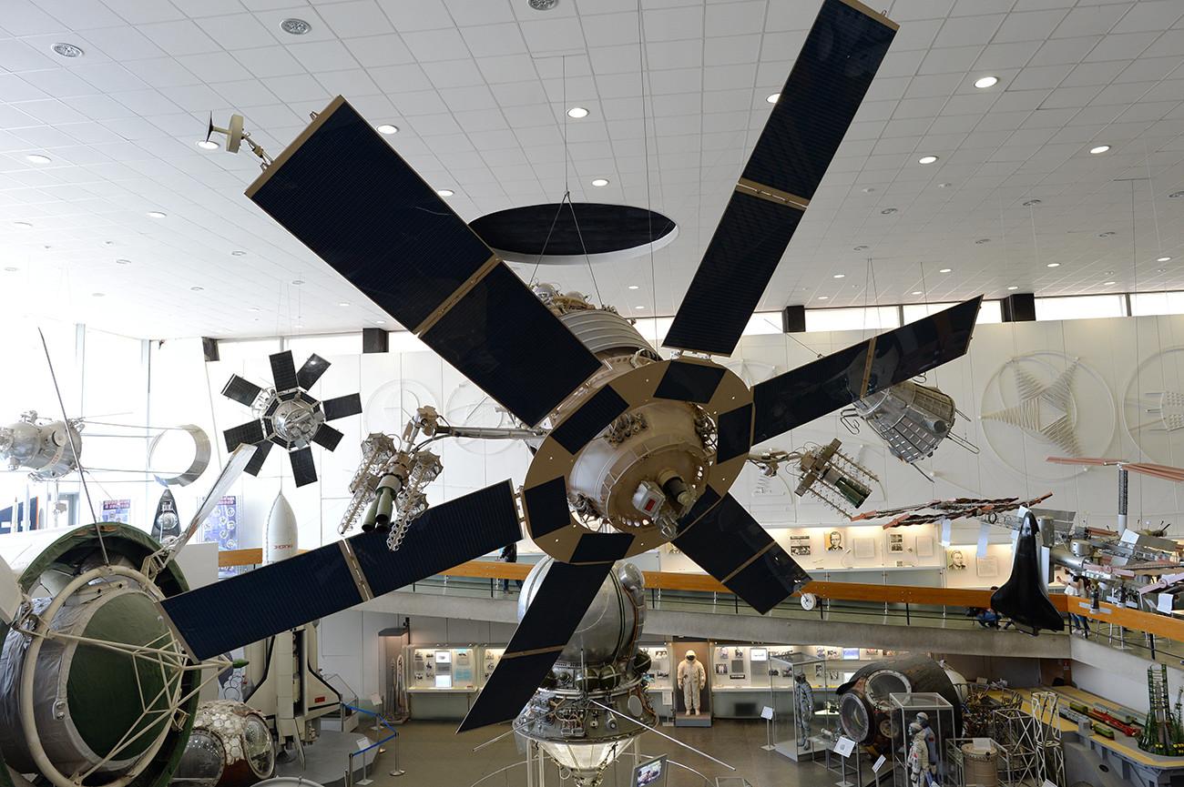 V Državnem muzeju za zgodovino kozmonavtike Ciolkovskega v Kalugi