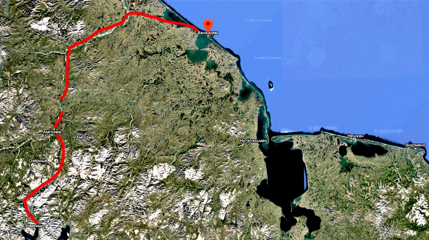 Карта марша