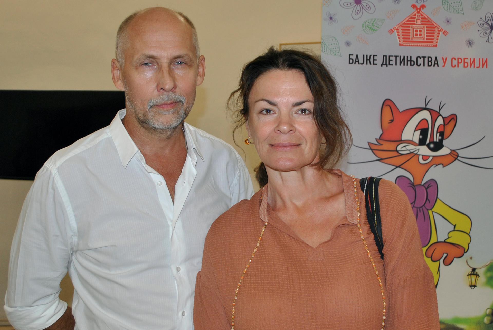 Михаил Калињин са супругом