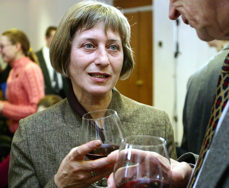 A poeta Olga Sedakova, amiga de Eroféiev.