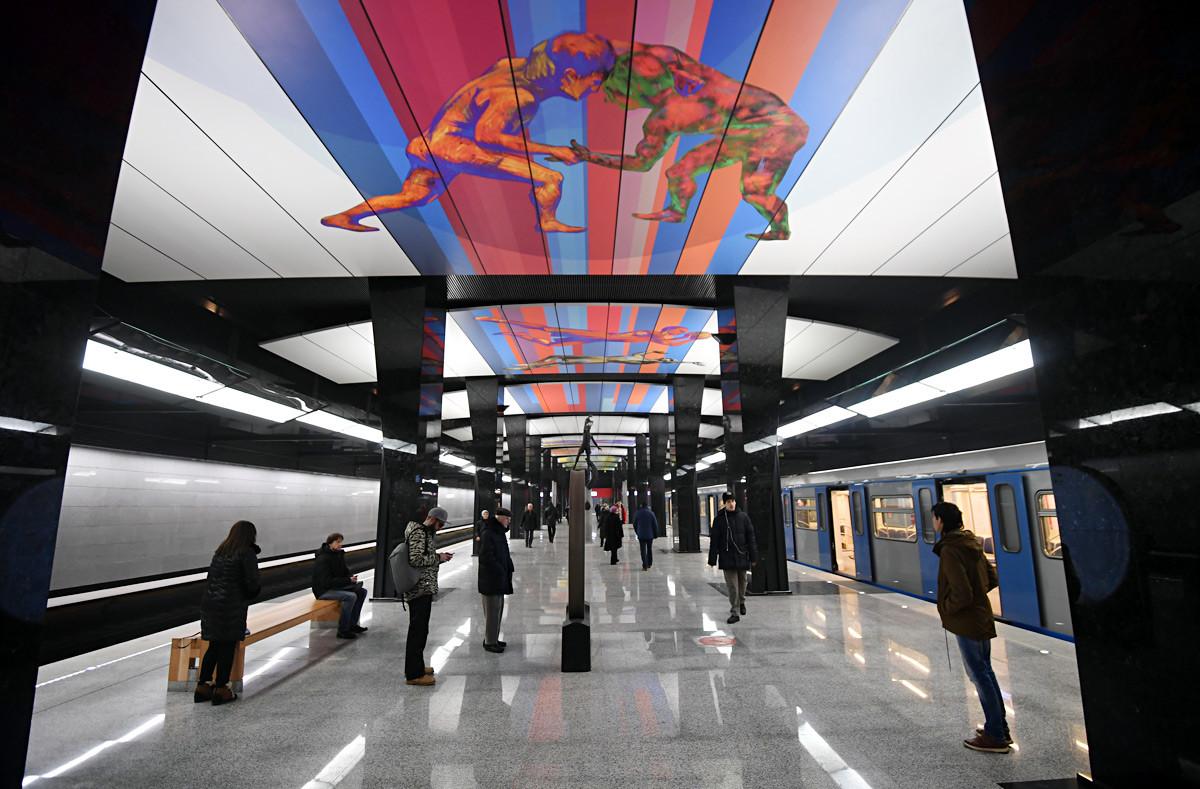 Postaja CSKA, moskovski metro