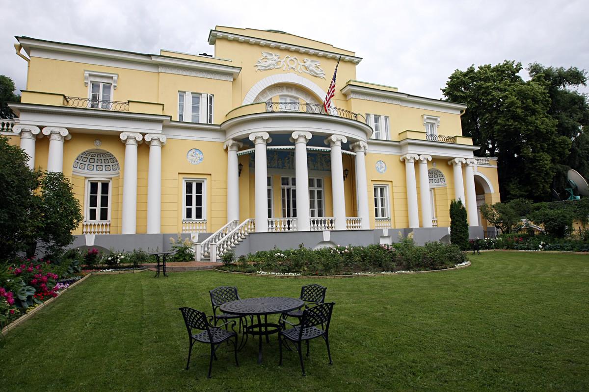 Casa Spaso. residencia de los embajadores de EE UU en Rusia desde 1933.