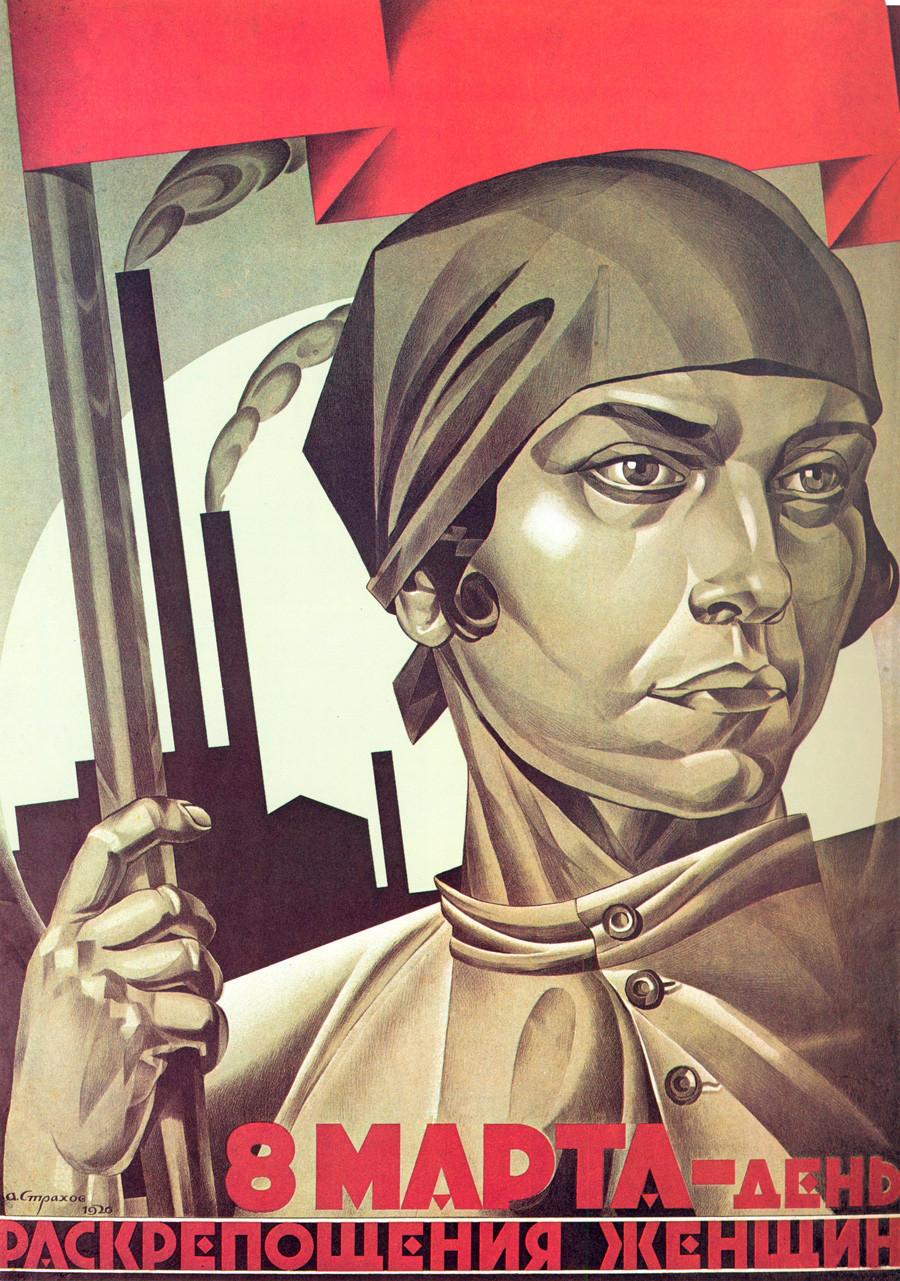 8 de março, dia da emancipação da mulher.
