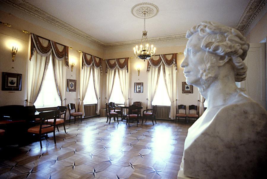 Interior da casa-museu de Púchkin