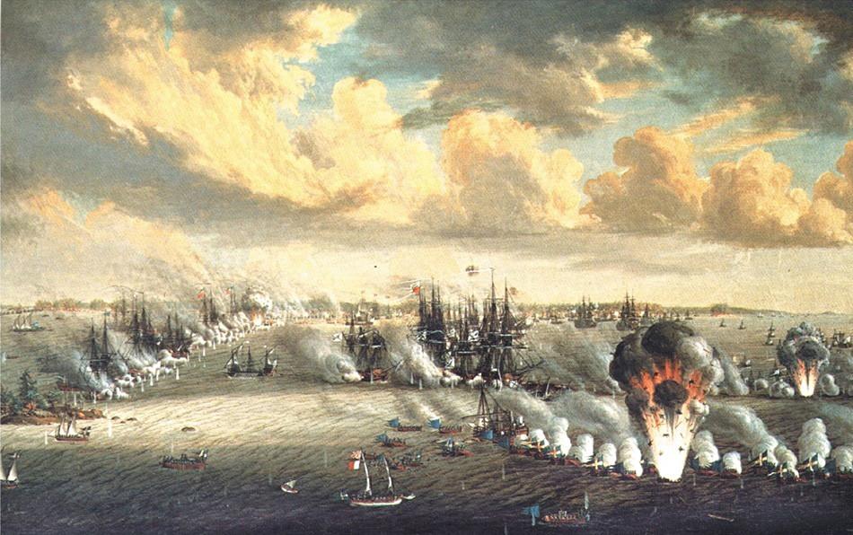 Seeschlacht am Svensksund von Johann Dietrich Schultz
