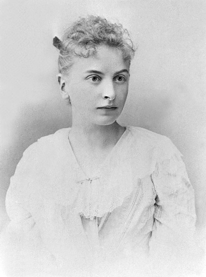 Инесса Арманд, 1895 год.