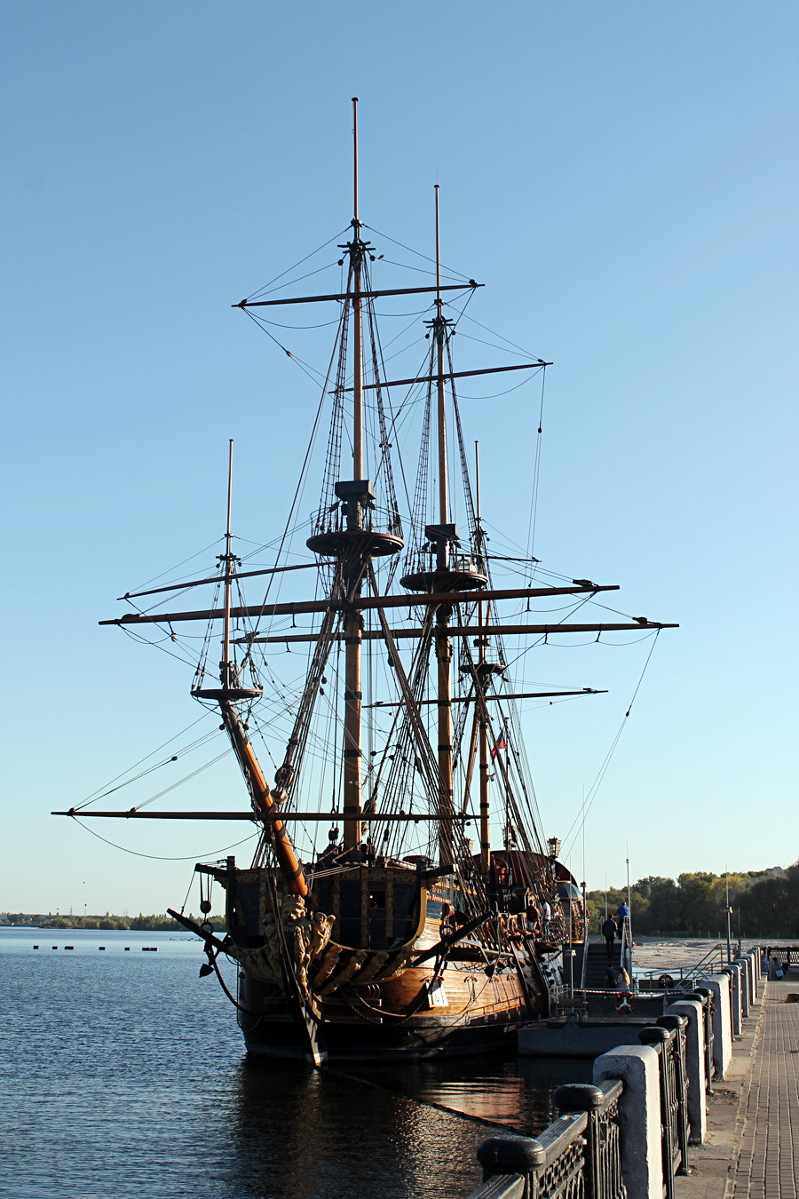 The Goto Predestinatsia warship.
