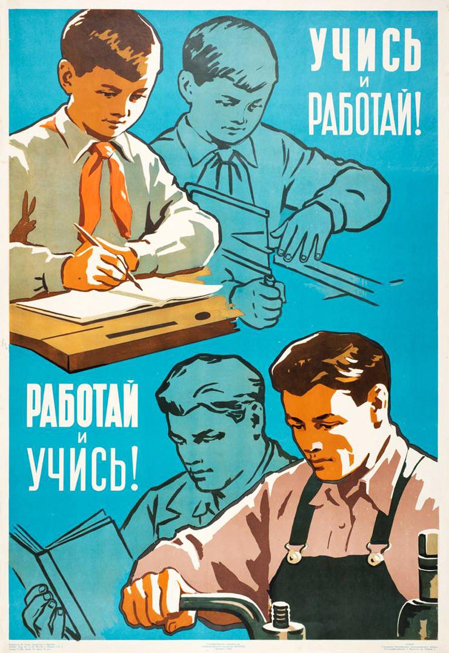 4. ¡Estudia y trabaja! ¡Trabaja y estudia!