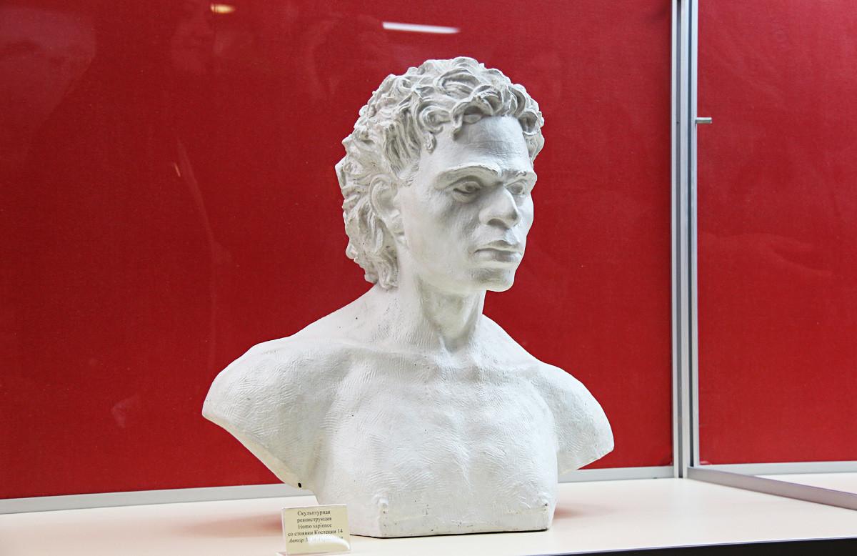 Rekonstruksi tengkorak di Kostenki membantu para peneliti memahami rupa orang-orang dari Zaman Batu.