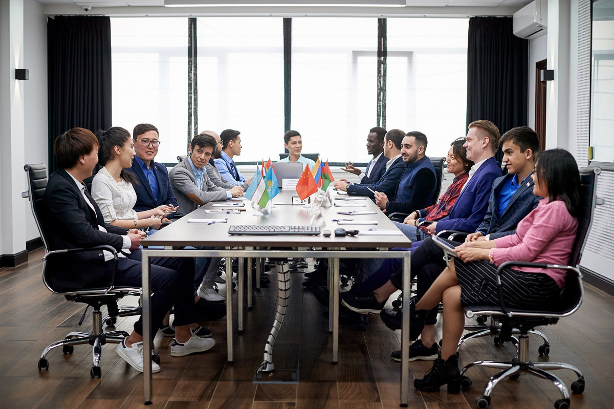 A meeting of the Board of the Association of Foreign Students