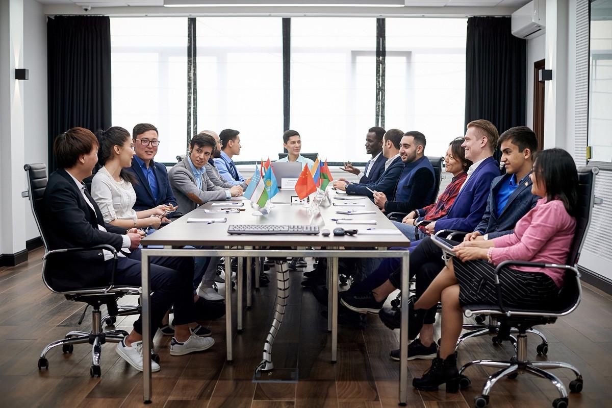 Encontro do Conselho da Associação de Estudantes Estrangeiros.
