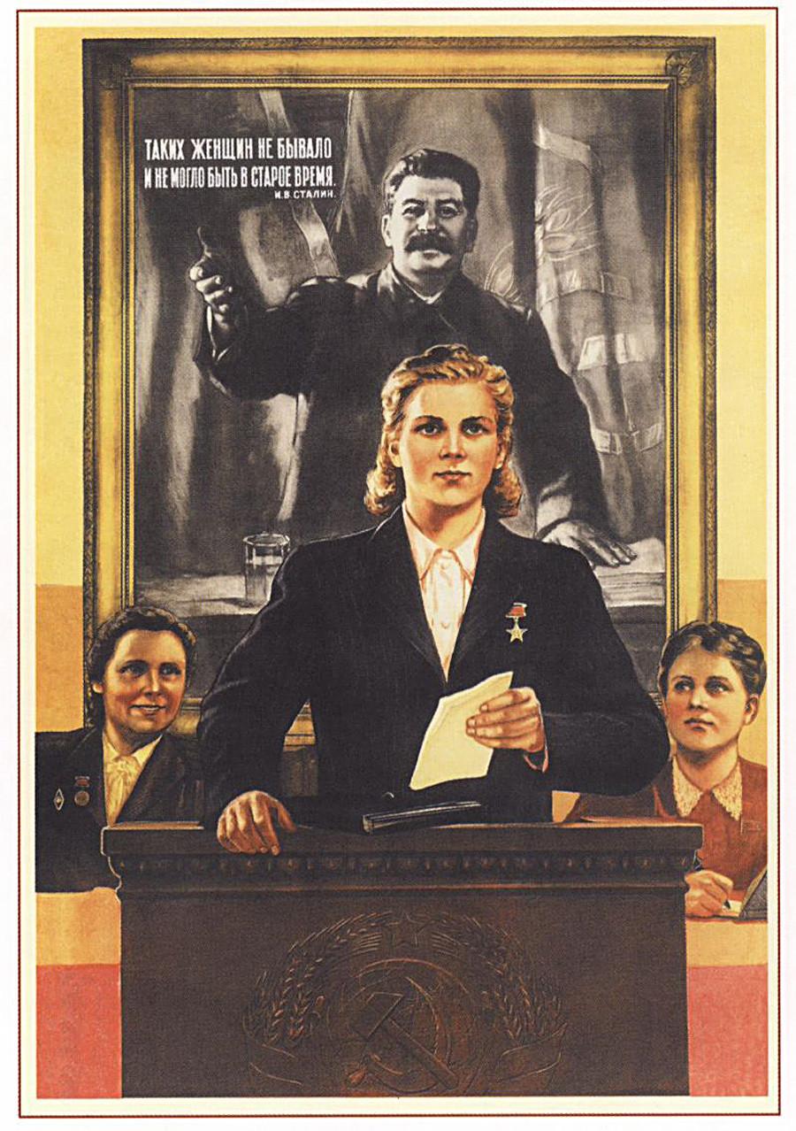 """""""Solche Frauen gab es nicht und konnte es in alten Zeiten auch nicht geben."""" Josef Stalin"""
