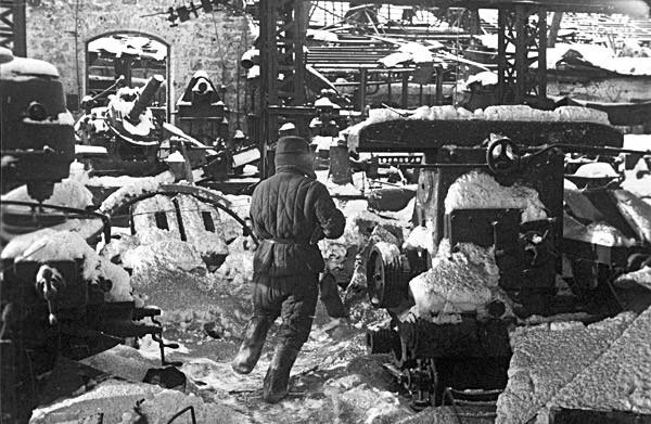 Batalla por la planta Barricadas durante la Segunda Guerra Mundial.
